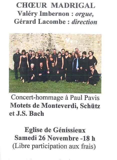concert choeur madrigal 2016