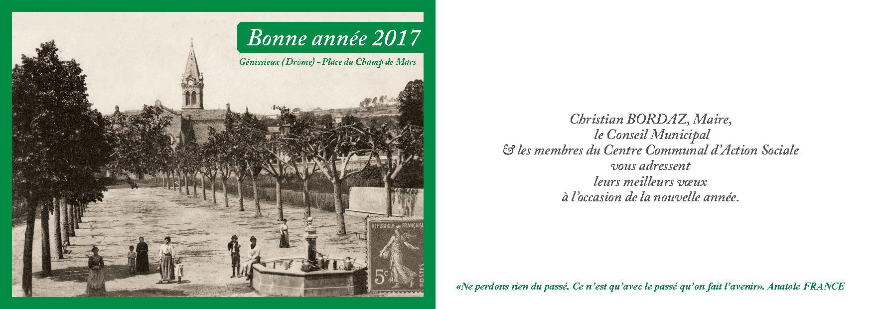 carte voeux 2017